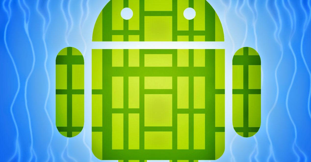 Logotipo Android para la scene