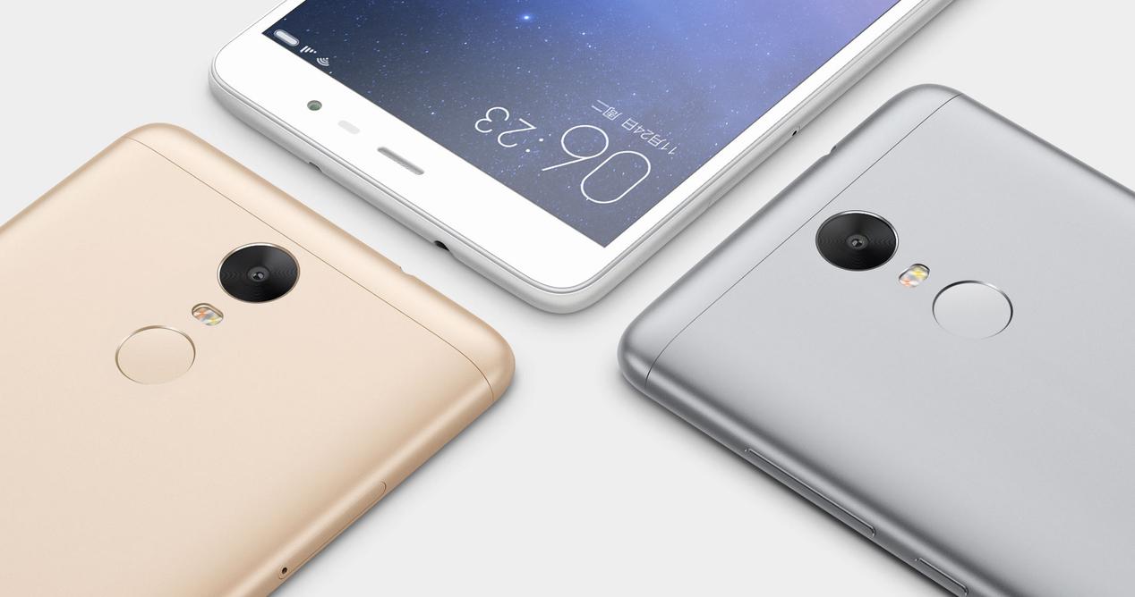 Xiaomi Redmi Note 3 Dorado Plata Gris