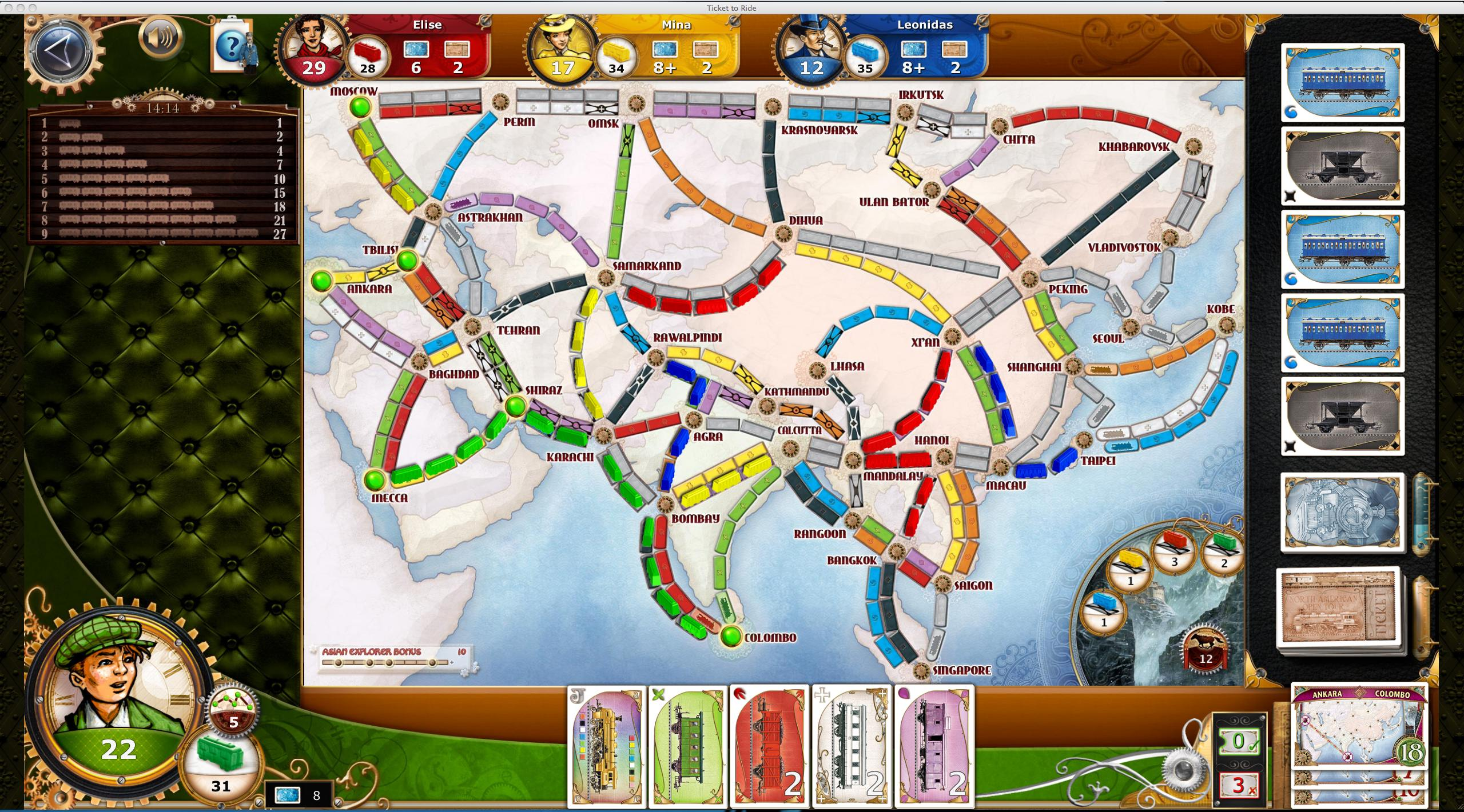 Ticket to Ride para Android