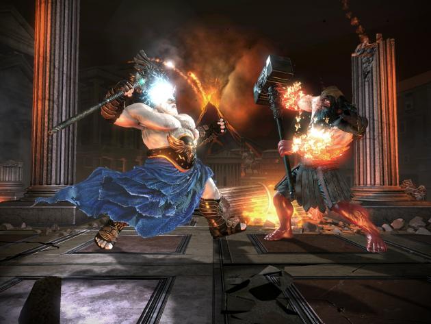 Batalla en God of Rome
