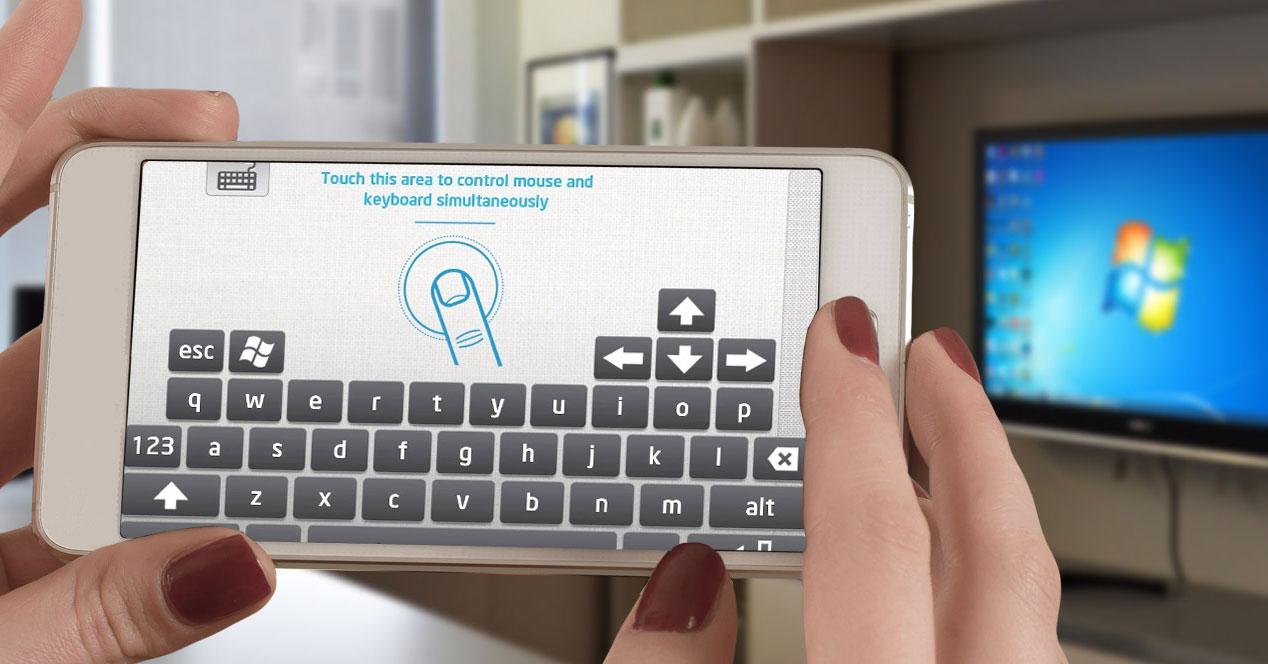 Aplacición Intel para uso de Android como ratón