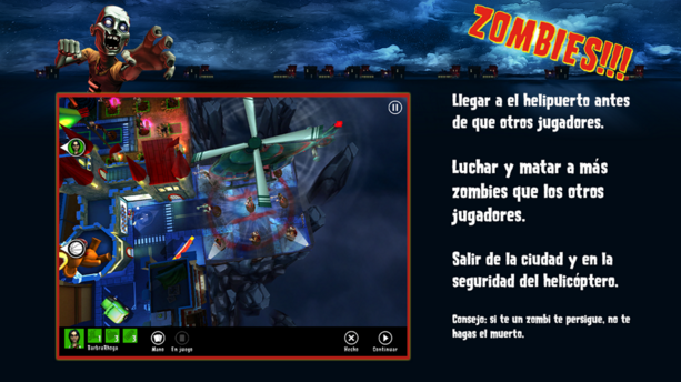 Juego Zombies!!! par Android