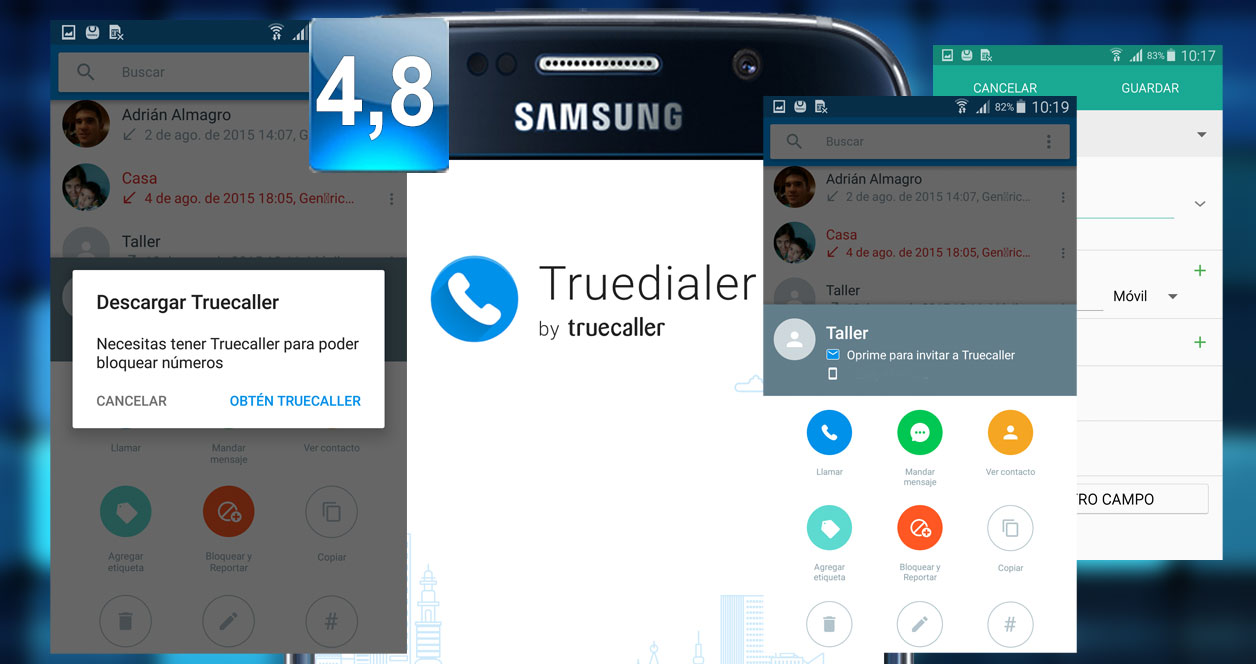 Aplicación Truedialer