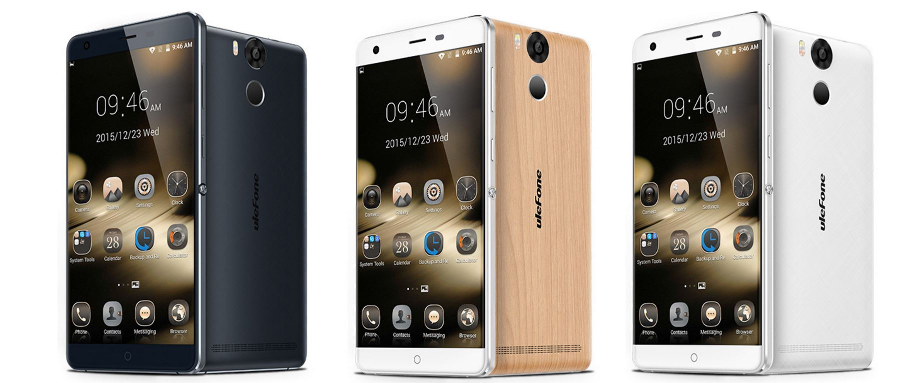 Colores del phablet Ulefone Power