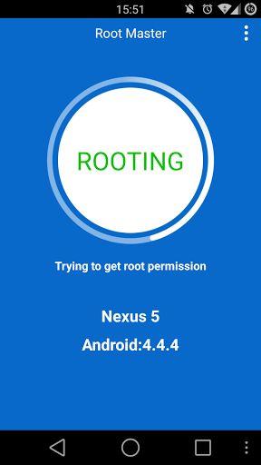 Aplicación Root Master
