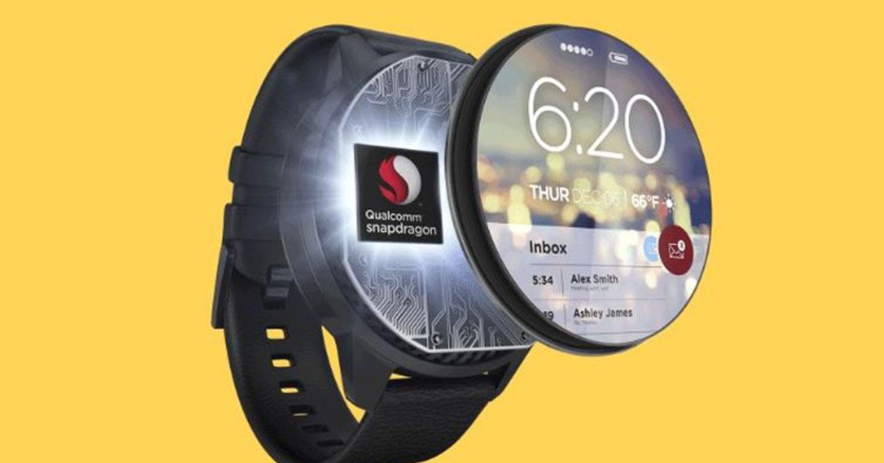 Smartwatch con procesador de Qualcomm