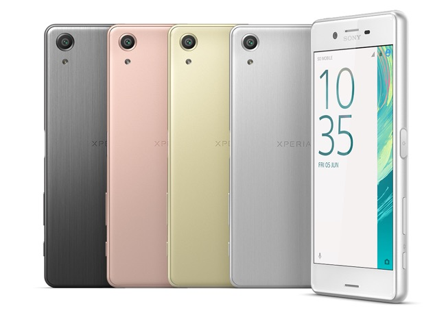 Sony Xperia X Performance Colores