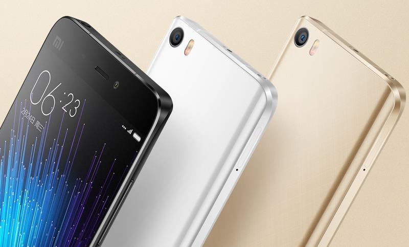 Xiaomi Mi 5 Colores