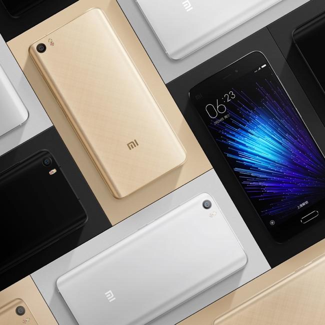 Xiaomi Mi 5 Versiones