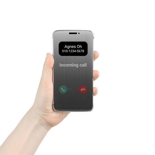 Uso de la funda oficial del LG G5