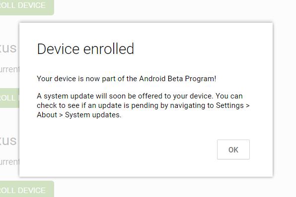 Darse de Alta en Android Beta Program