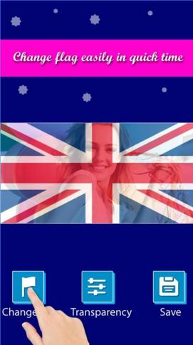 Aplicación Flag Profile Photos para Android