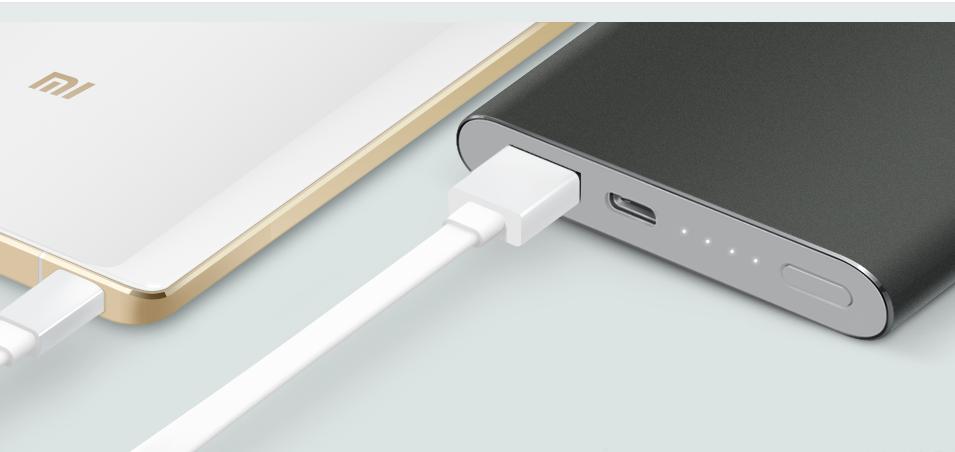 Nueva batería USB tipo C de Xiaomi