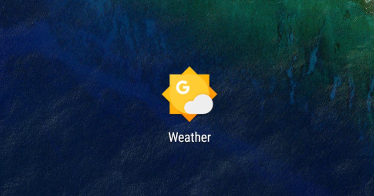 Icono para el tiempo de Google Now
