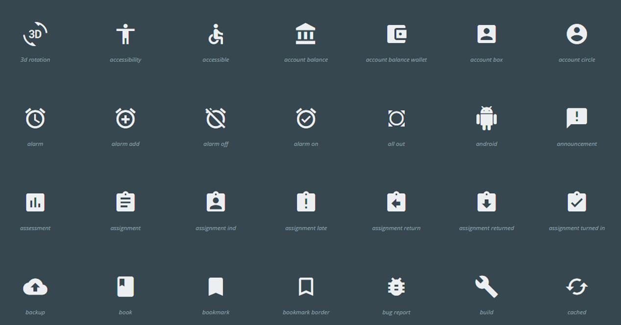 Creación iconos Android