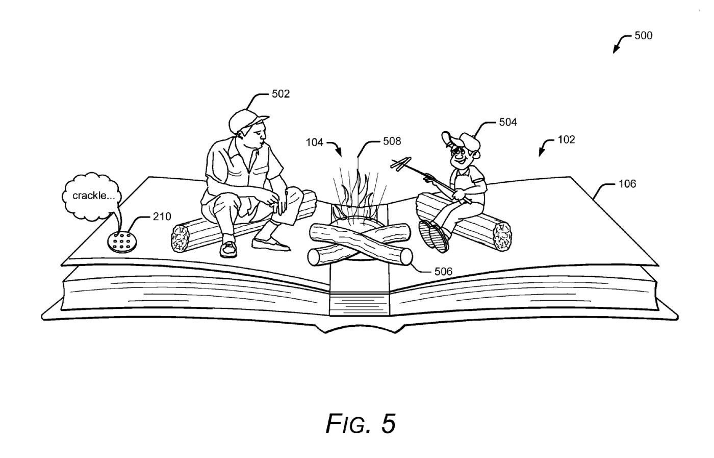 Patente de Google uso de realidad aumentada en libros interactivos