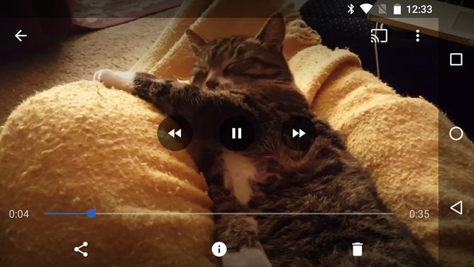 Nuevas opciones de reproducción en Google Fotos