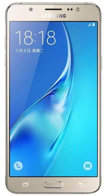 Imagen frontal del Samsung Galaxy J7 2016