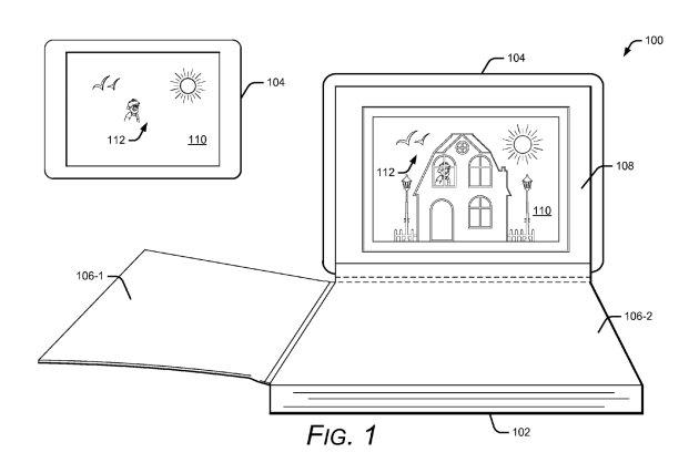 Uso de tablet en libro interactivo de Google