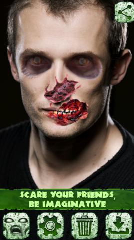 Aplicación Zombie Edición de Fotos para Android