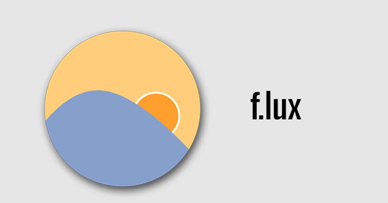 Logotipo de f.lux para Android