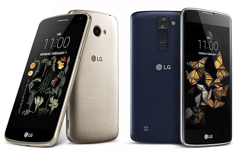 Nuevos LG K5 y LG K8