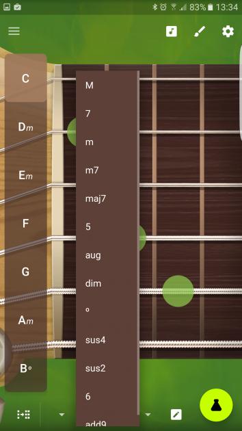 Interfaz ampliada de Robotic Guitarist
