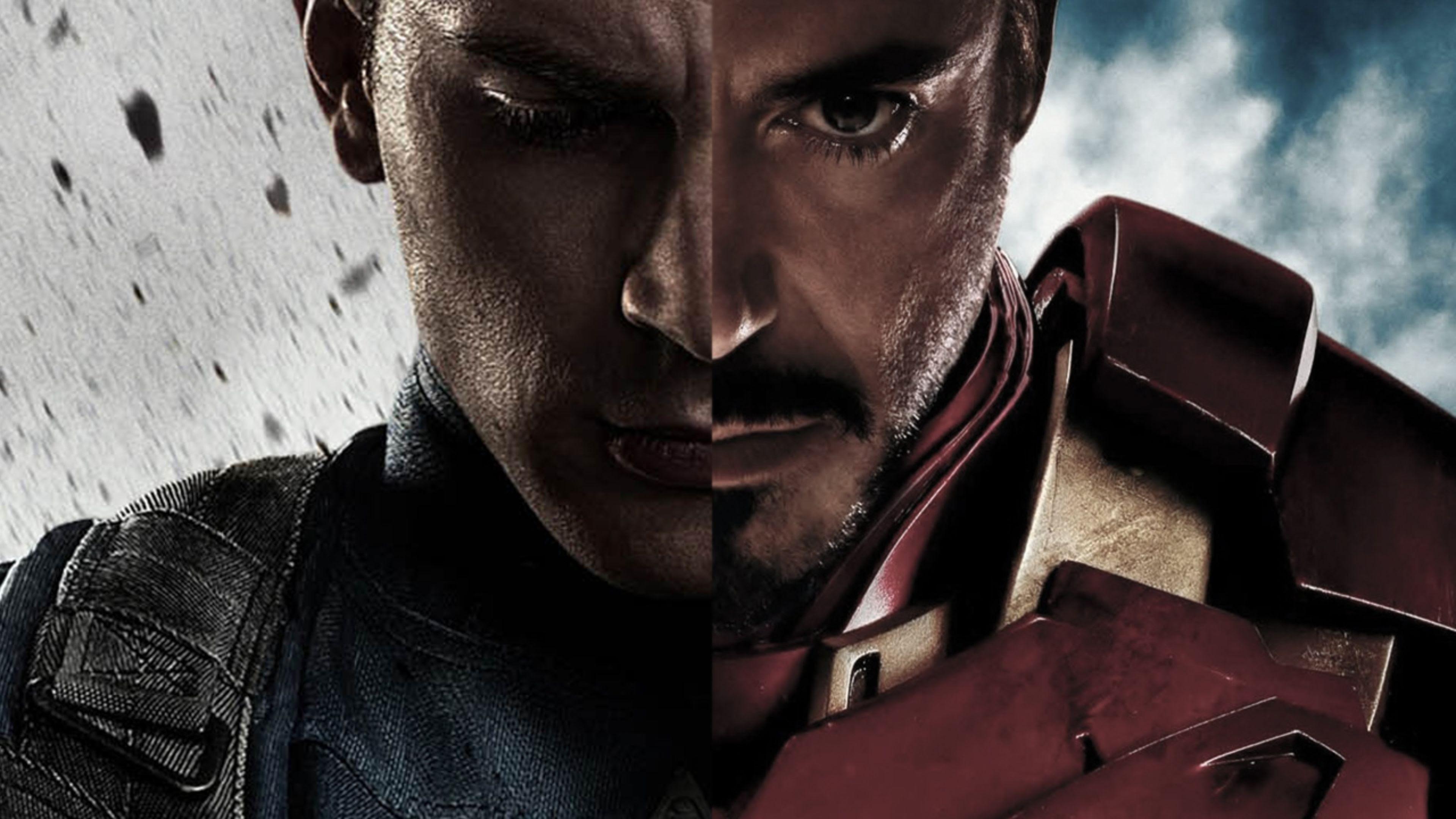 Creación Capitán América y Iron Man