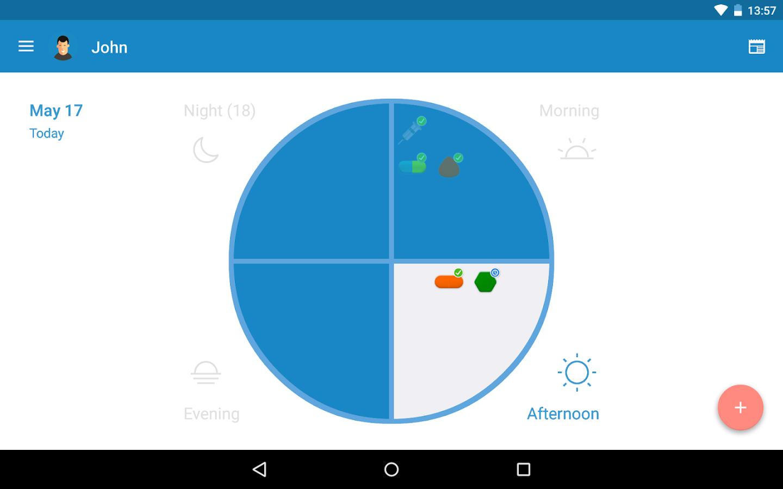 Aplicación Medisafe para Android