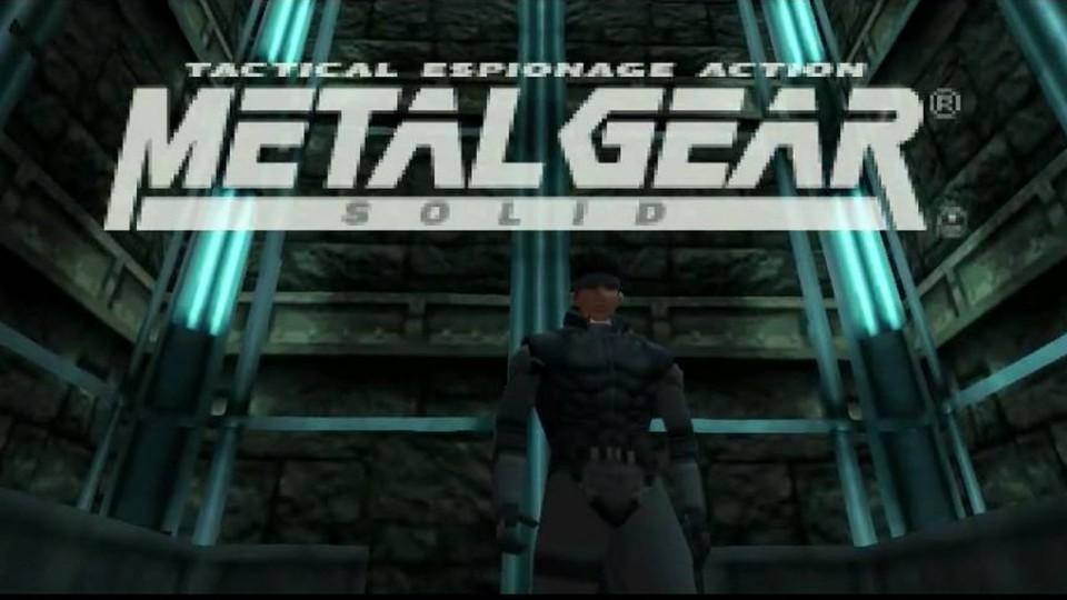 Juego Metal Gear para PlayStation
