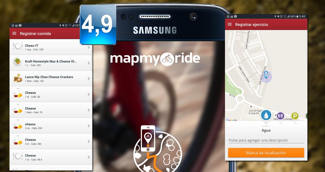 Montaje MapMyRide