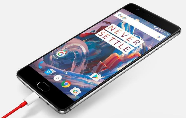 OnePlus 3 Cargando
