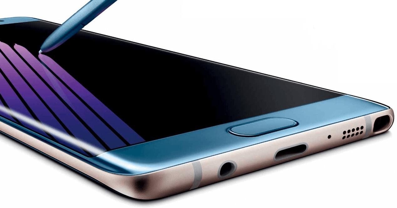 Samsung Galaxy Note 7 Azul