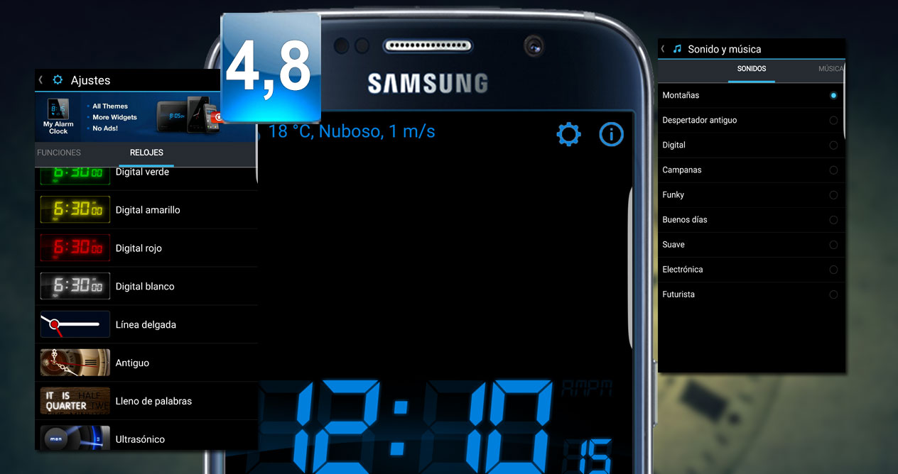 Mi reloj despertador