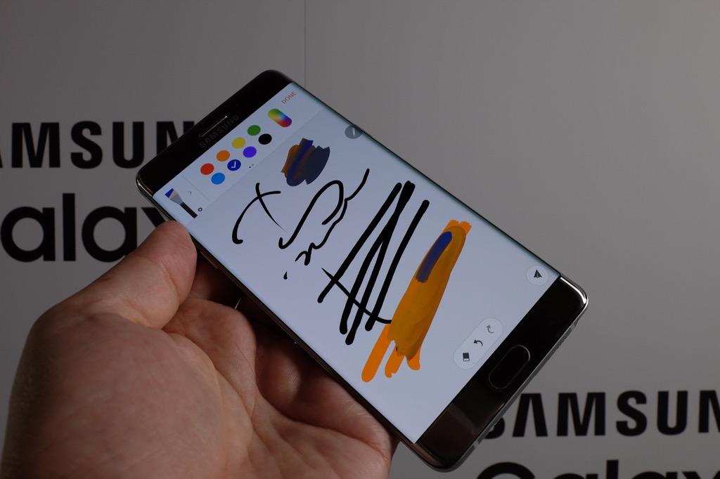 Pantalla del Samsung Galaxy Note 7