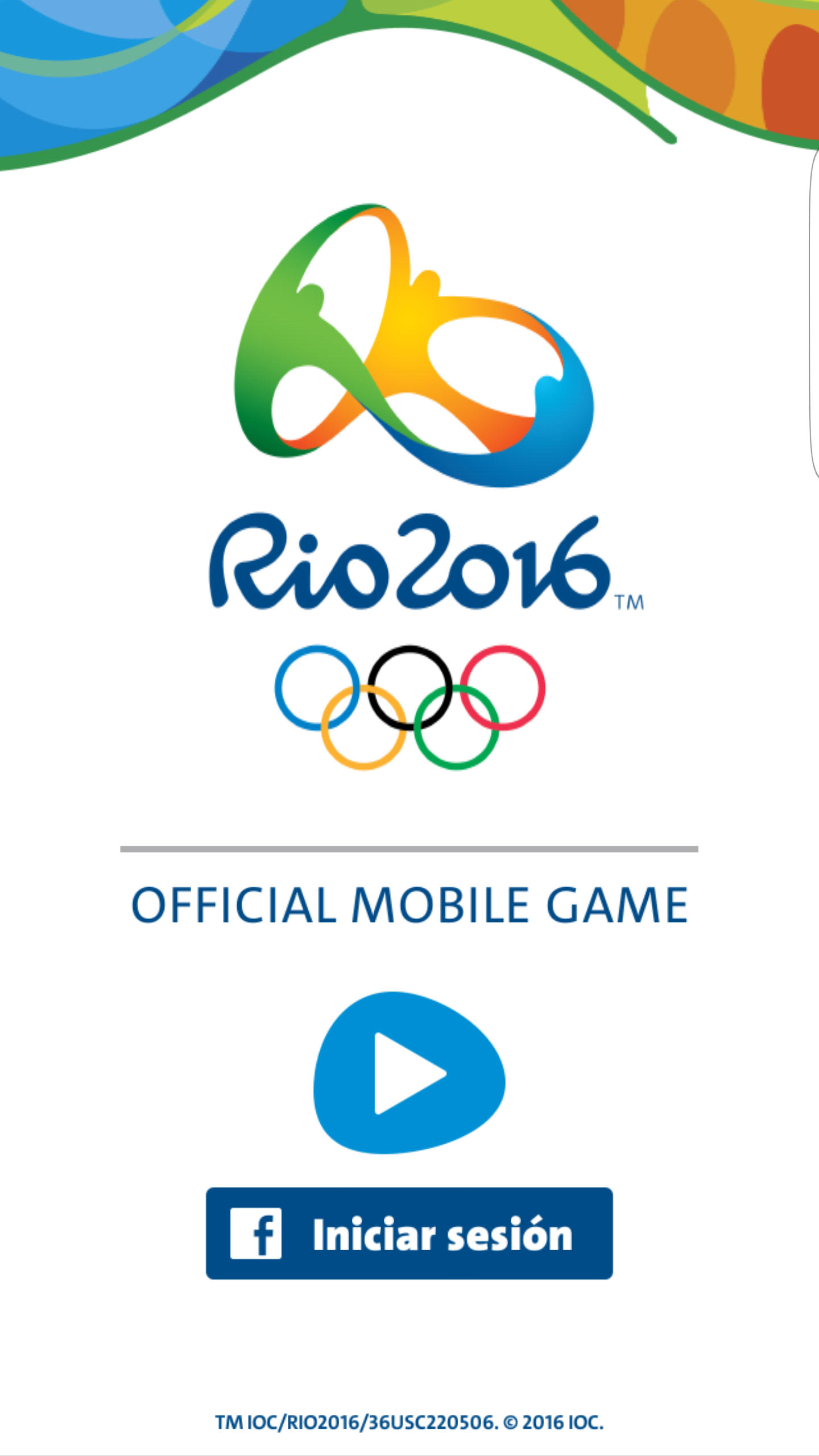 Juego ANdroid Juegos Olímpicos de Río 2016