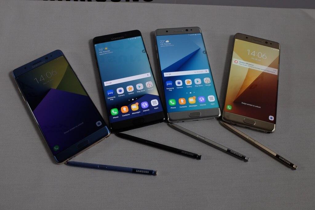 Diseño del Samsung Galaxy Note 7