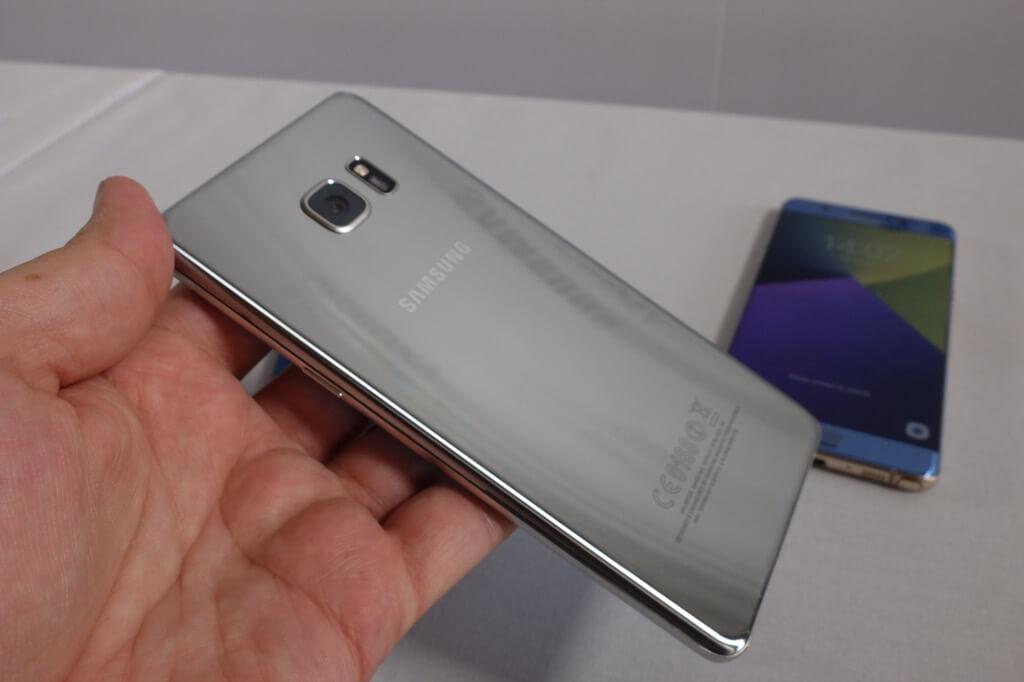 Carcasa trasera del Samsung Galaxy Note 7
