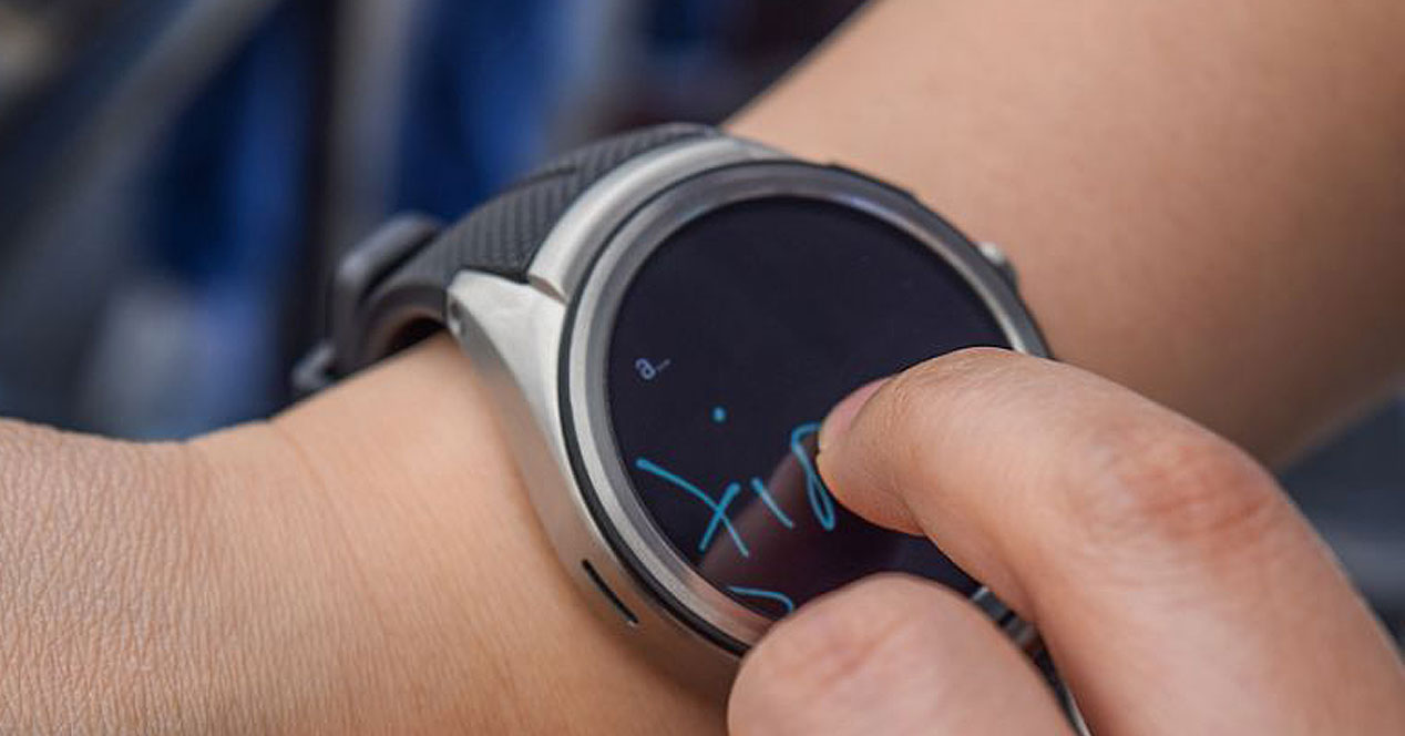 Uso de watch face Together