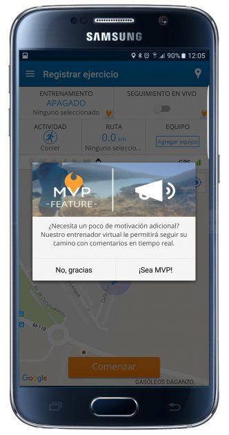 Posibilidades de MapMyRun