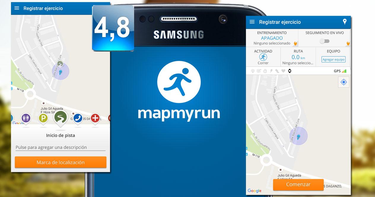 Aplicación MapMyRun