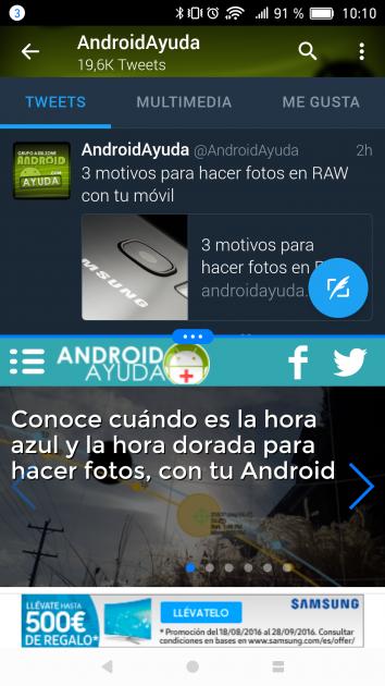 Multiventana en Android Nougat