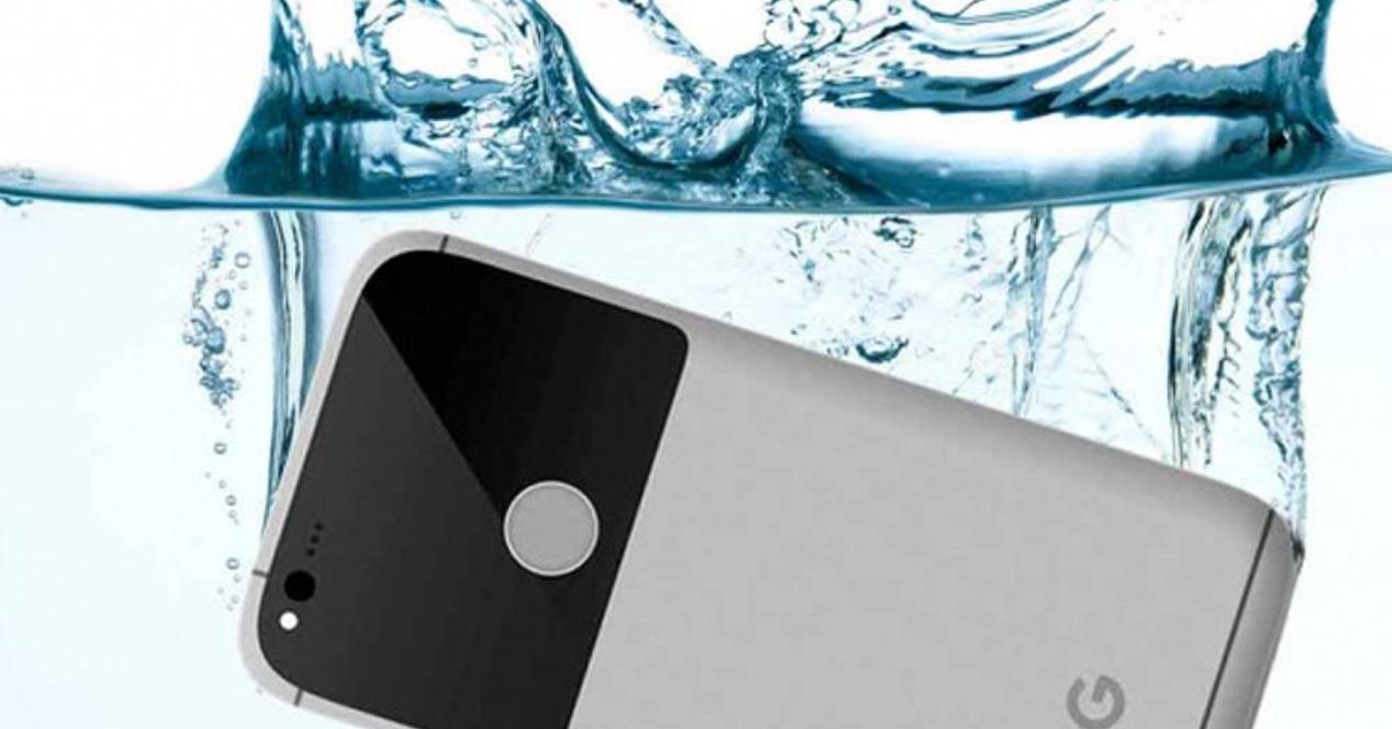 Los Google Pixel son resistentes al agua