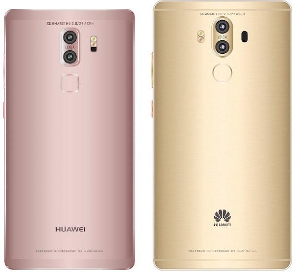 Huawei Mate 9 Dos versiones