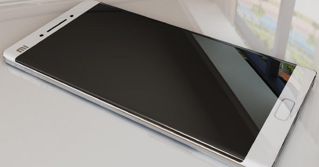 Xiaomi Mi Note 2 con pantalla curva