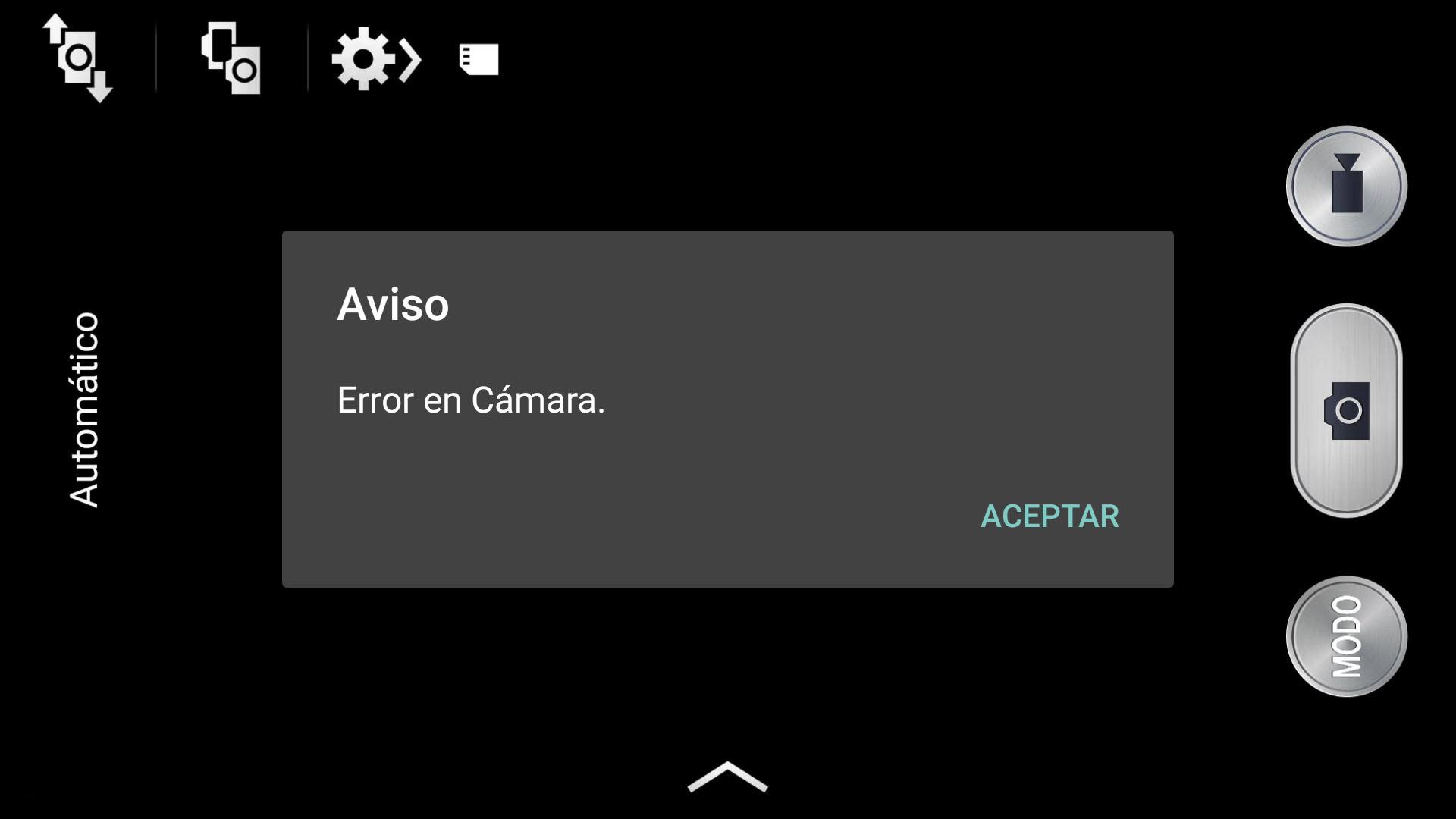 Error de la cámara de los Samsung Galaxy