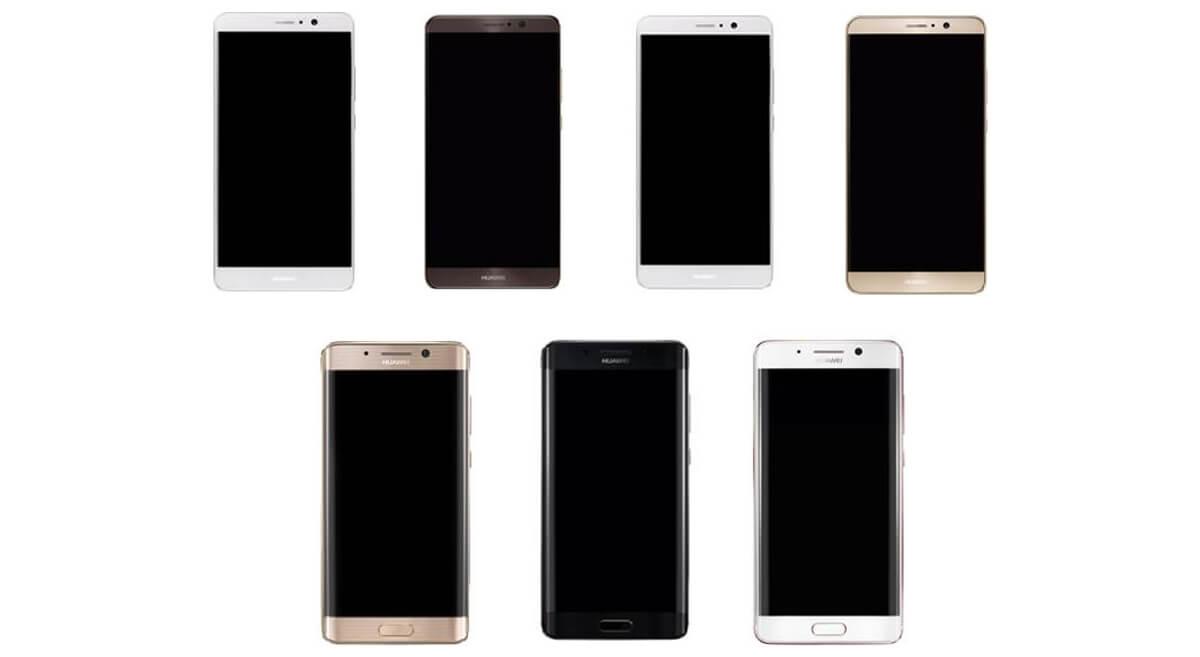 Huawei Mate 9 con pantalla curva