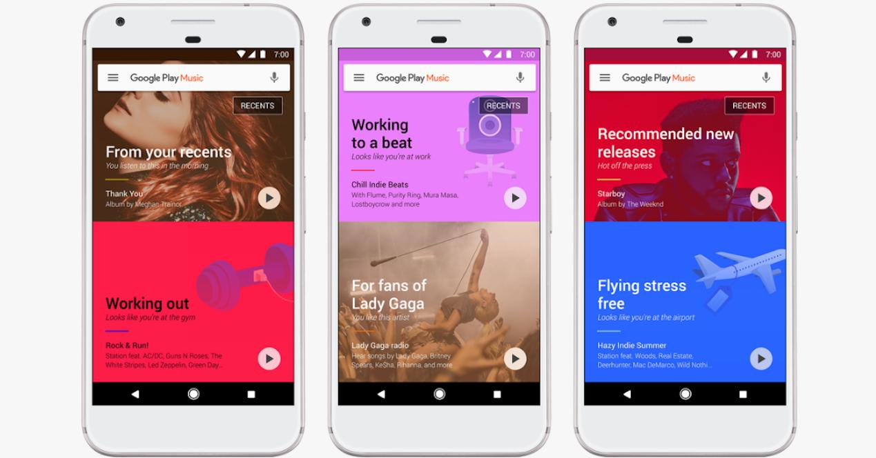 nuevo google play music