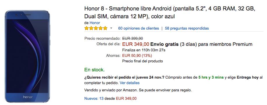 honor 8 amazon