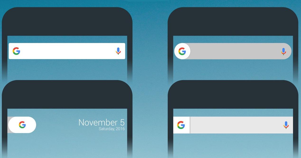 Google Widget Personalizar